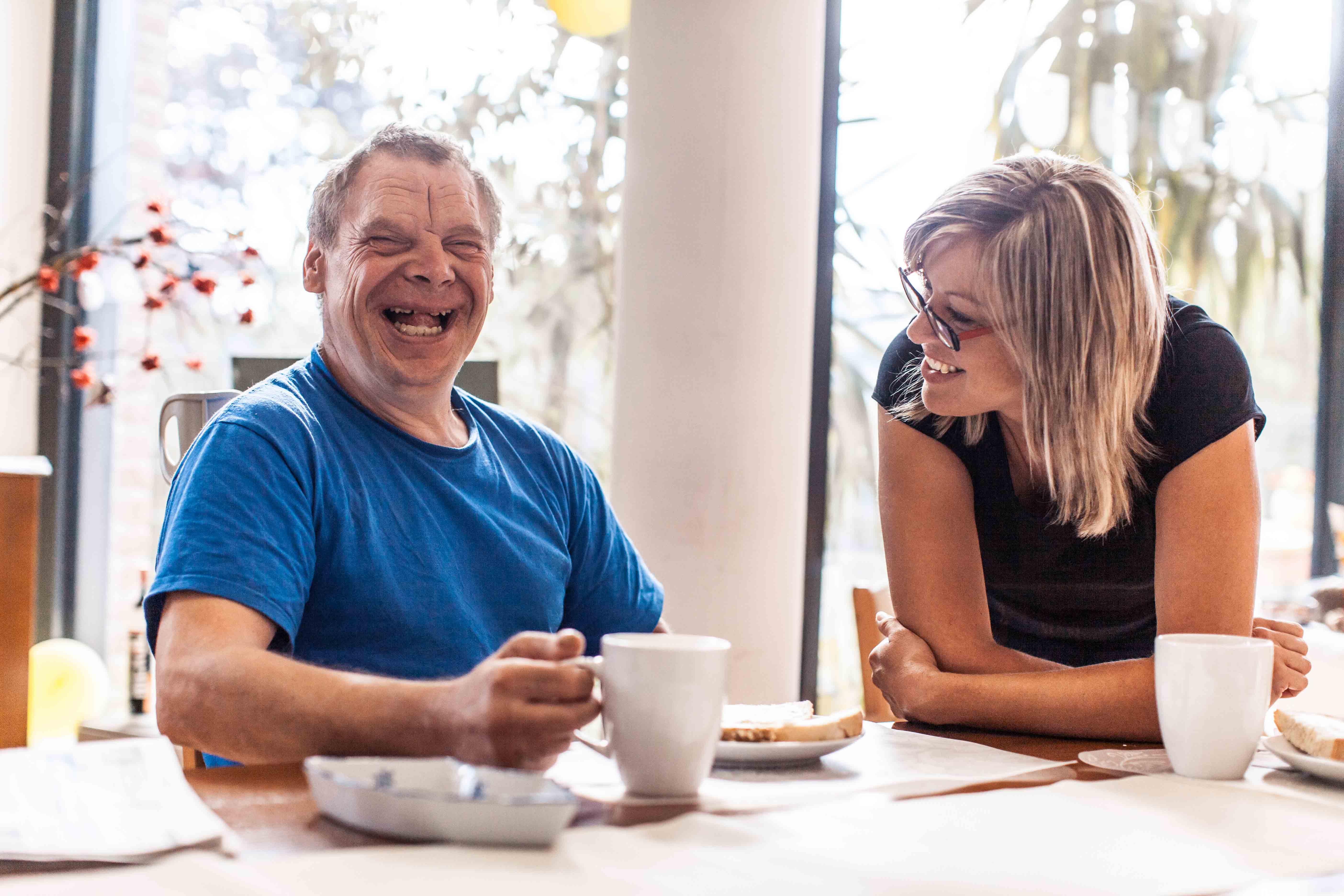 Manos Home Care | man care giver slide